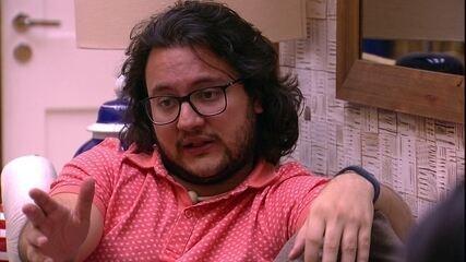 Diego revela estratégia a Gleici: 'Te dizer isso pode comprometer o meu jogo'