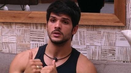 Lucas defende Jéssica para brothers, mas afirma: 'Não estou no papel de mudar opinião'