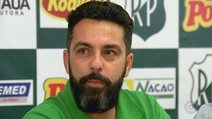 Rodrigo Fonseca deixa o comando do Rio Preto