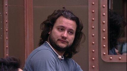 Diego conta conversa com Wagner: 'Tudo o que você fala da Jéssica eu posso falar da Gleici