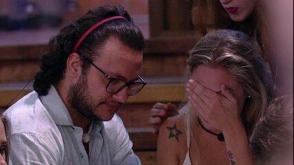 Jéssica sobre Lucas: 'Não falei tudo que eu queria ter falado'