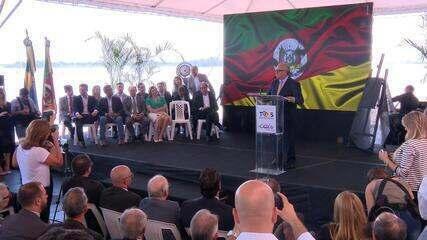 Governador assina ordem de serviço para início das obras da revitalização do Cais Mauá