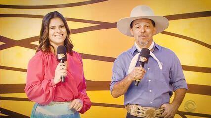 Confira as atrações do 'Galpão Crioulo' deste domingo (4)