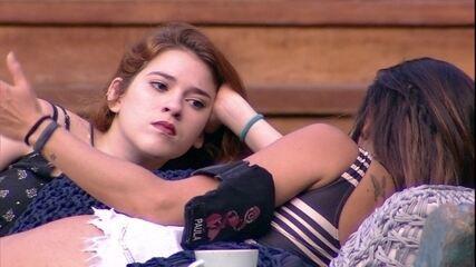Paula para Ana Clara: 'A amizade que importa aqui é a sua, da Gleici, do Mahmoud e Jéssica