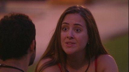 Patrícia fala sobre si: 'Sou muita carinhosa'