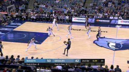 Melhores momentos: Denver Nuggets 108 x 102 Memphis Grizzlies pela NBA