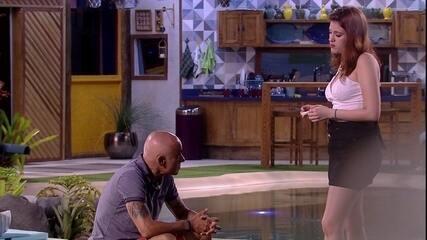 Ayrton diz para Ana Clara: 'Se for autoimune a gente vota no Diego'