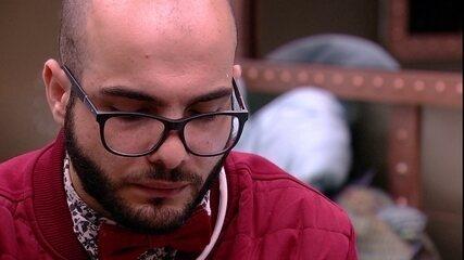 Jéssica garante a Mahmoud: 'Sempre vou estar do seu lado'