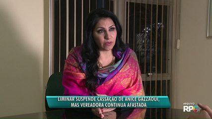 Justiça concede liminar para vereadora Anice Gazzaoui