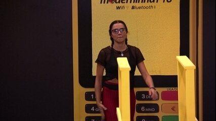 Paula sobre Breno: 'Está me desconcentrando aqui'
