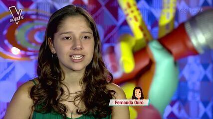 Crianças do time Claudia comentam apresentação no primeiro dia de shows ao vivo