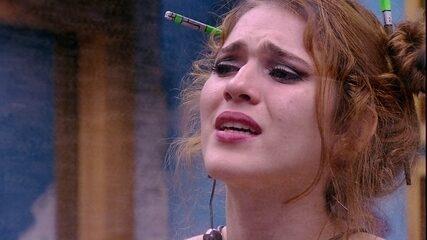 Ana Clara é direta com Breno: 'Para mim você morreu'
