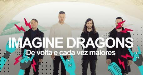 Imagine Dragons: Saiba como será o show no Lollapalooza 2018