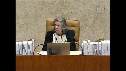 Cármen Lúcia vota em julgamento de pedido de habeas corpus de Lula no STF