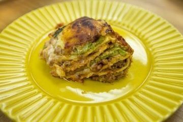 Lasanha de Crepioca do Chef Ravioli