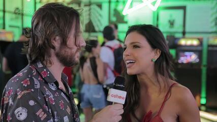 Mariana Rios exibe boa forma em look vermelho e brinca: 'Tô igual a uma power ranger'