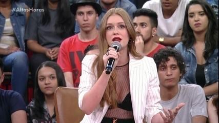 Marina Ruy Barbosa fala de pessoas que a ajudam a tomar decisões