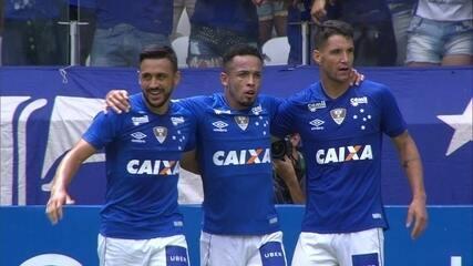 Os gols de Cruzeiro 2 x 1 Tupi pela semifinal do Campeonato Mineiro