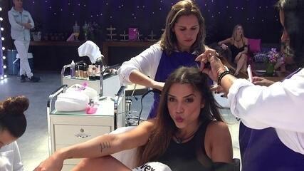 Paula brinca com sisters: 'Se tiver plaquinha de insuportável, pode me dar'