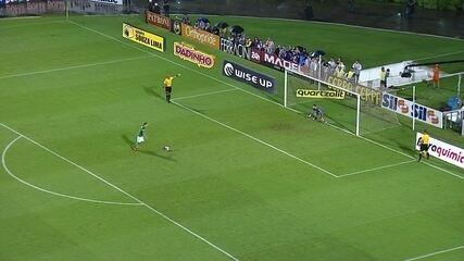 Veja os pênaltis de Palmeiras 1 (5) x (3) 2 Santos pela semifinal do Paulistão