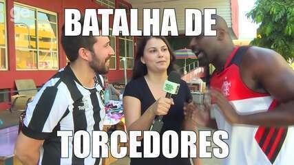 Batalha de Torcedores: Botafogo x Flamengo