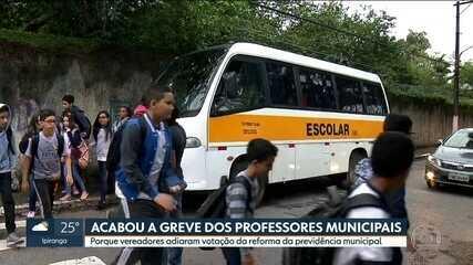 Professores municipais acabam com a greve e alunos voltam às aulas na Capital