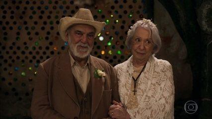 Mercedes e Josafá se casam
