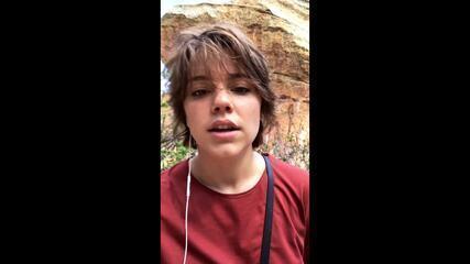 Alice Wegmann mostra gravações no Parque Nacional Serra da Capivara