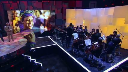 Maitê Lourenço e Orquestra prestam homenagem a Marielle Franco