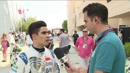 Sérgio Sette Câmara fala sobre segundo lugar no GP do Barein de Fórmula 2