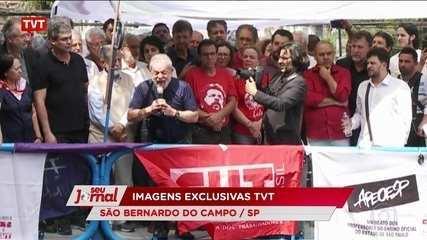 Ex-presidente Lula afirma que decidiu se entregar para provar sua inocência