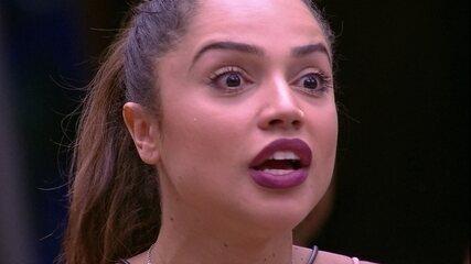 Paula justifica seu voto para Ana Clara: 'Eu não ia mudar o Paredão'