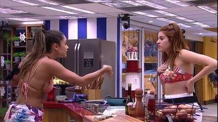 Paula fala com Ana Clara sobre amizade com Jéssica: 'Você não está dentro do meu coração'