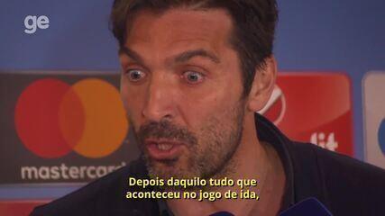 """Buffon faz duras críticas ao árbitro da partida entre Juve e Real: """"Não foi homem"""""""