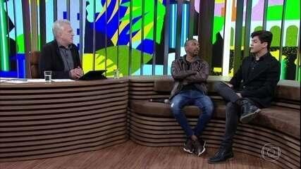 """Nego do Borel e Lucas Veloso falam sobre """"Os Trapalhões"""""""