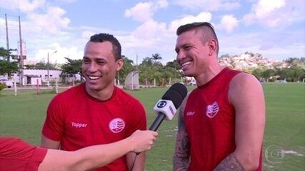 No Náutico, Rafael Oliveira e Gilmar fazem amizade forte em período de lesões