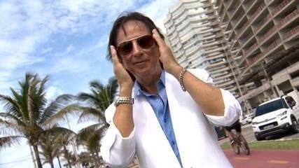 'EMME' dá volta de calhambeque e encontra fãs de Roberto Carlos