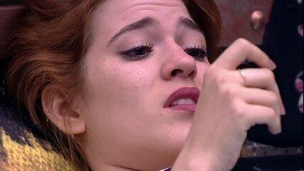 Gleici pergunta se Ana Clara acredita na vitória de Kaysar e ouve: 'Não acho'