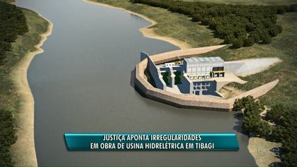 Justiça manda paralisar obra de Usina Hidrelétrica no Rio Tibagi