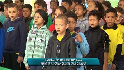 Escolas de Curitiba desenvolvem projetos para conter evasão escolar