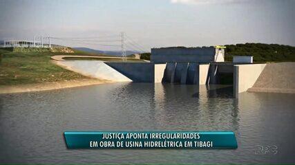 Justiça manda parar obra em hidrelétrica do rio Tibagi