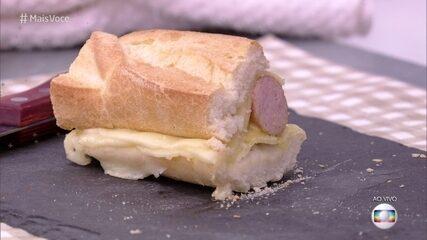 Hot Dog do Olivetto no 'Mais Você'