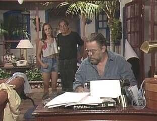 Em 1993, Domingos Oliveira escreveu a minissérieContos de Verão, da qual também participou como ator, vivendo o personagem Jonas