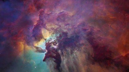 Nebulosa da Lagoa é retratada em filme feito com imagens do telescópio Espacial Hubble