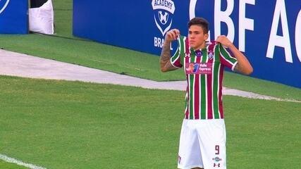 Gol do Fluminense! Sornoza cruza e Pedro marca contra o Cruzeiro