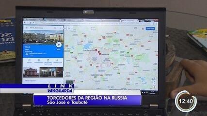 Moradores da região vão assistir a Copa na Rússia