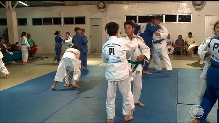 Mais de 40 judocas piauiense se preparam para o Campeonato Regional de Judô