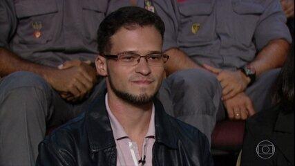 Gabriel de Souza Alves compartilha sua experiência no 'Conversa com Bial'
