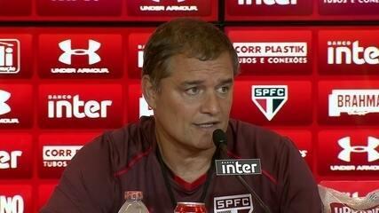 Veja como foi a entrevista coletiva de Diego Aguirre, técnico do São Paulo, nesta sexta