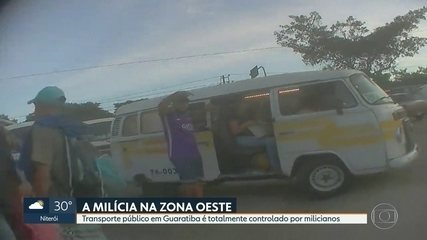 Transporte público é totalmente controlado por milicianos em Guaratiba